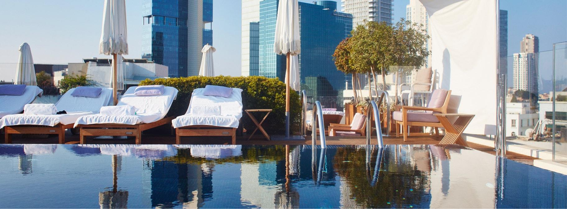 tel aviv hotels with pool