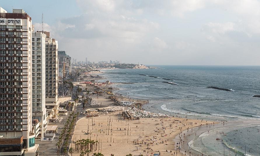 מלונות יוקרה בתל אביב מול הים