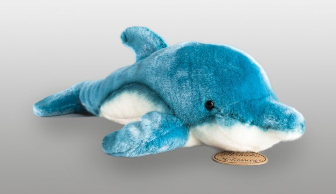 The Norman Dolphin plush toy