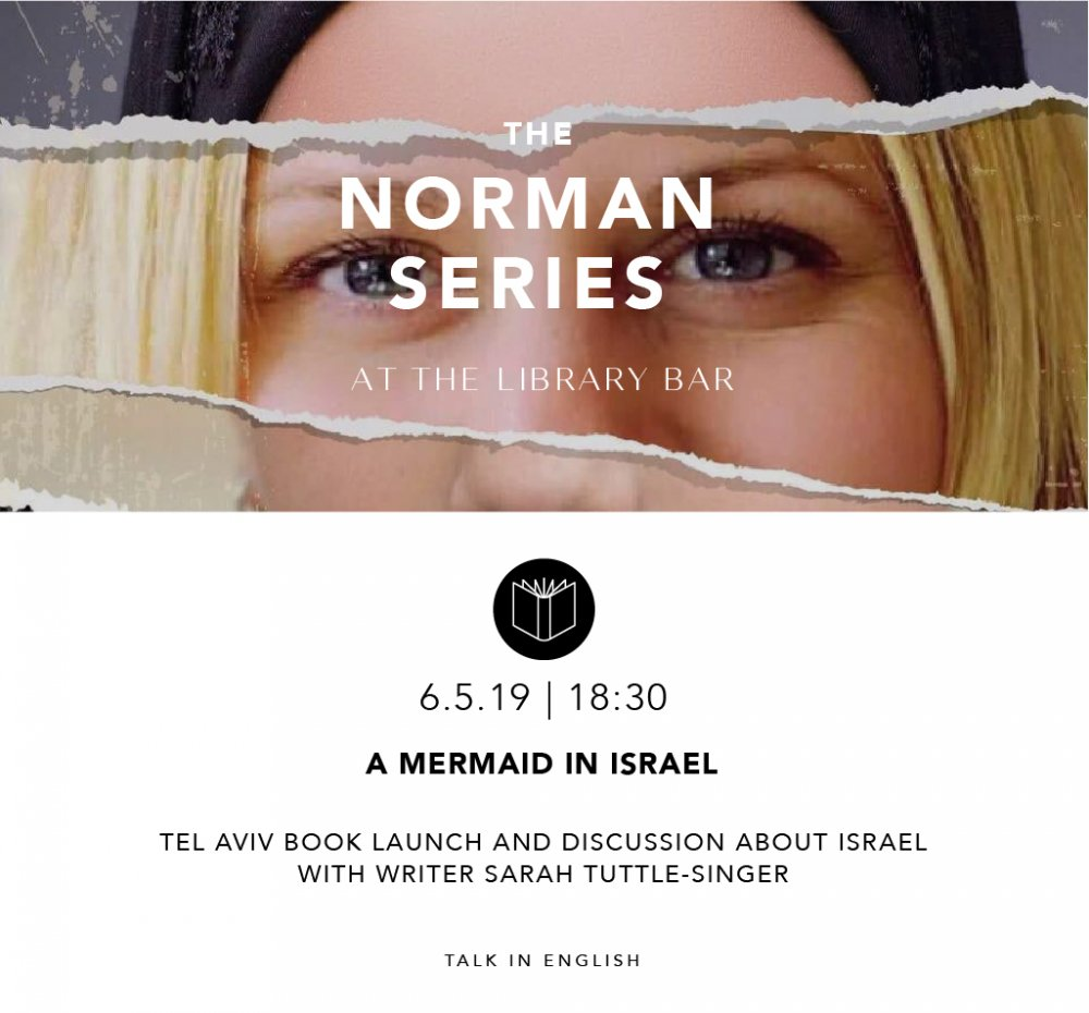 A mermaid in Israel